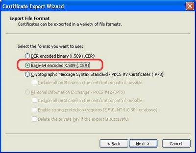 certificate-export
