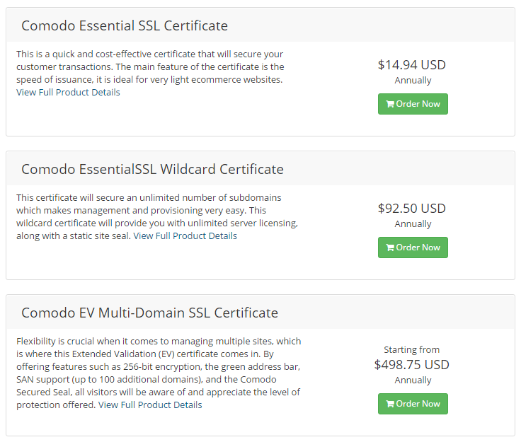 What SSL Reseller Program Offers the best WHMCS Module?