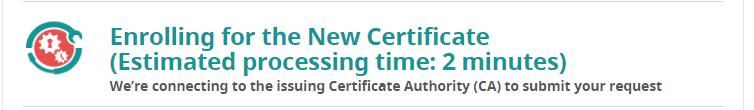 Enrolling SSL