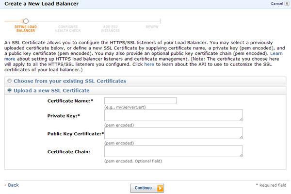 SSL Installation Guide for AWS Elastic Load Balancer