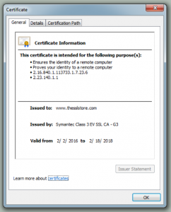 SSL Certificates Expire