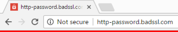 HTTPS, Not Secure, SSL