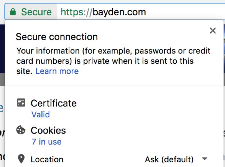 Google Making it Easier to View Certificate Details in