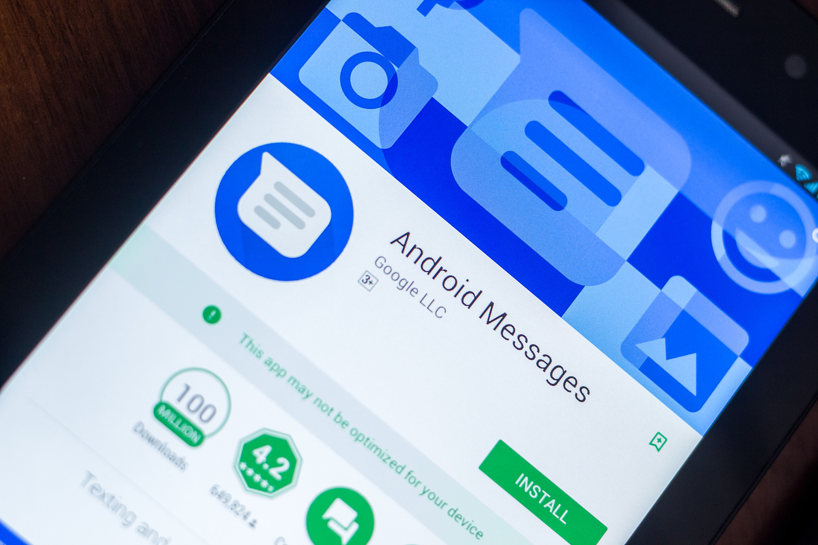 The desktop app is great, but Android Messages still aren't encrypted