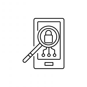 Decrypting a cell phone