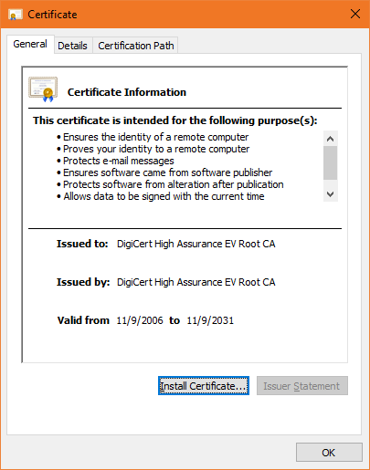 The Difference Between Root Certificates and Intermediate
