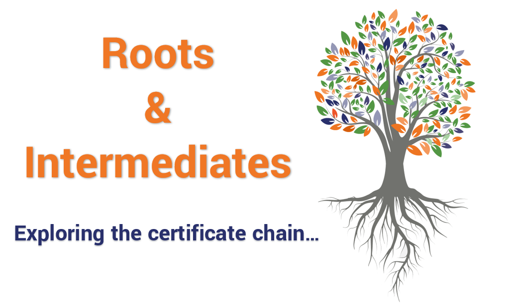 Difference Between Root Certificates and Intermediate