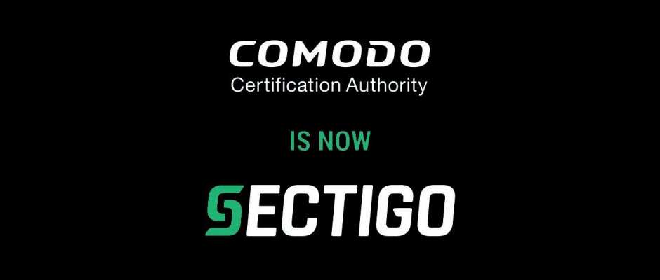 Comoo CA IS Now Sectigo