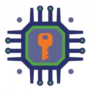 Encryption key icon