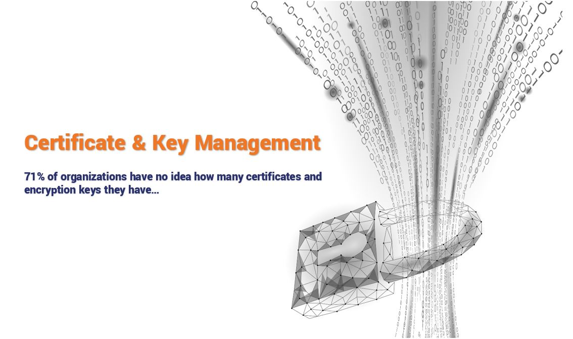 71% of Organizations don't know how many certificates & keys