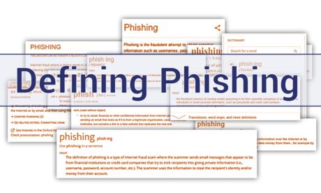 Pinning down a Phishing Definition