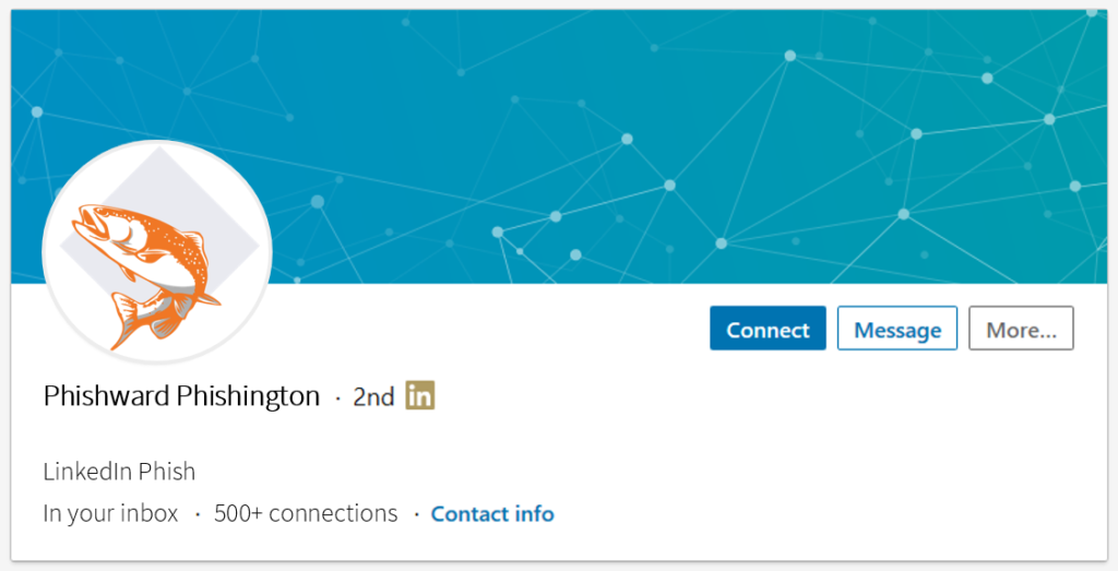 LinkedIn Phishing: This is why we can't have nice things