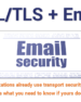 SSL/TLS Encryption and Email Servers