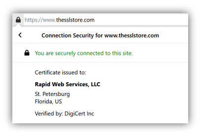 Graphic: Certificate info helps you assert identity