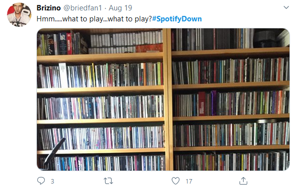 Spotify down, what to play
