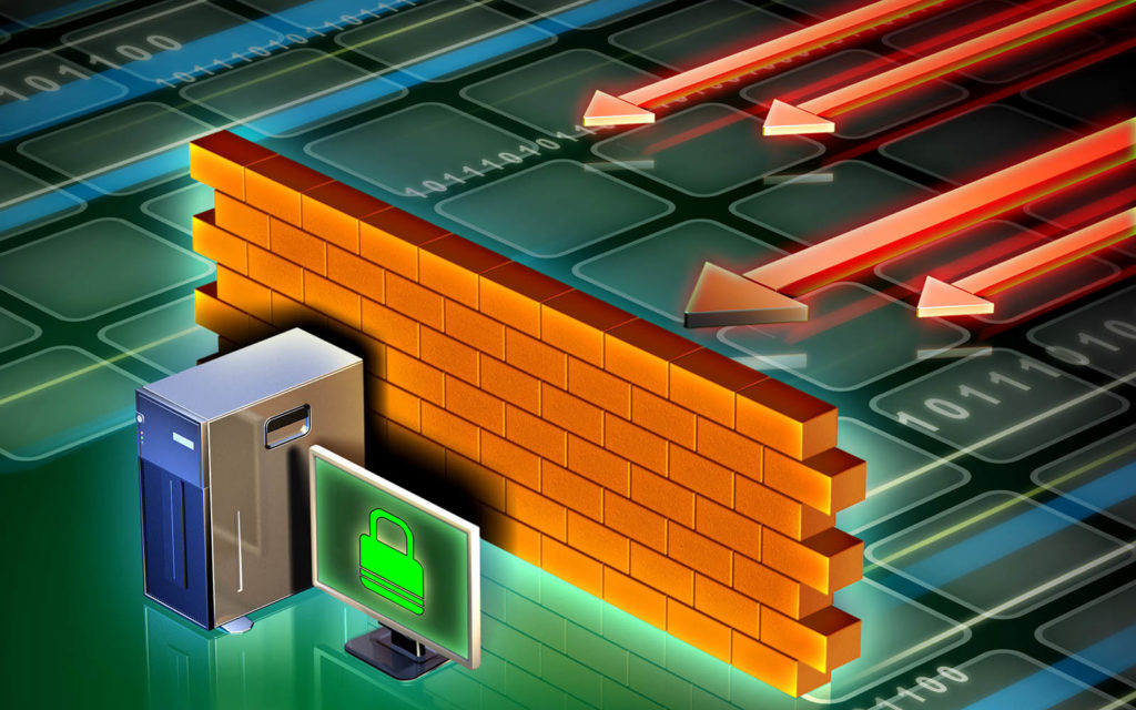 What is a firewall graphic: Origins of the term firewall