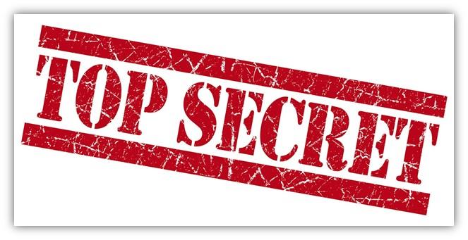 A top secret warning -- your symmetric encryption key should be kept secret