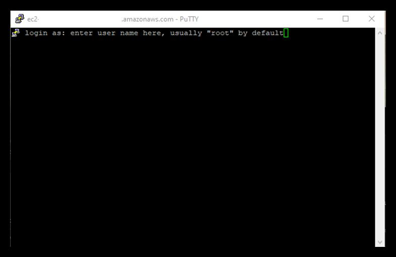 Screenshot of an SSH access management server root admin access login prompt