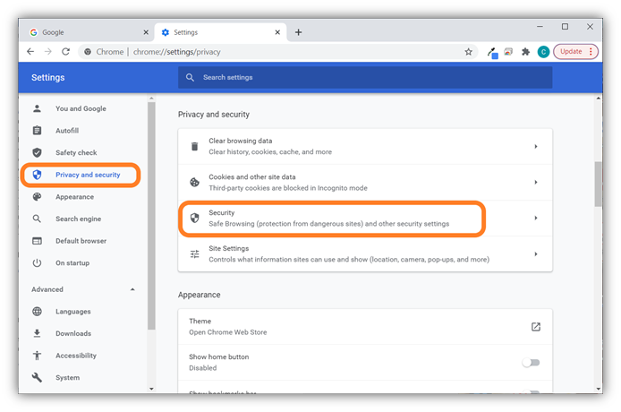The second of 7 screenshots that shows how to import your client authentication certificate in Google Chrome using the certificate important wizard tool.