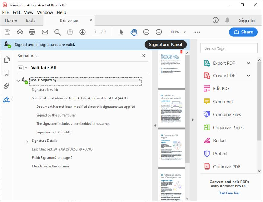 document signing in adobe