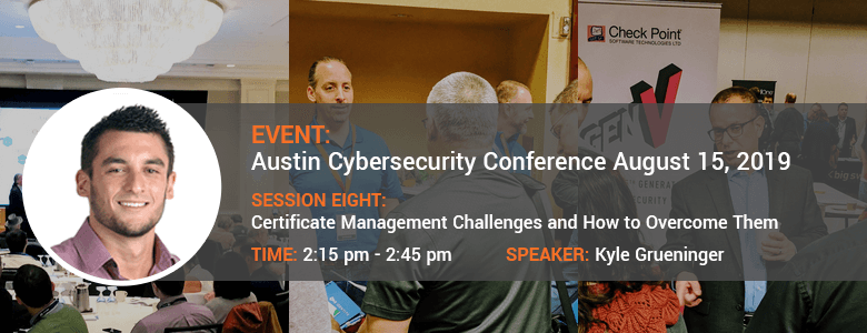 Data Connectors 2019 Austin Cybersecurity Conference August 15, 2019
