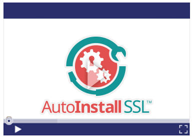 AutoInstall SSL Video