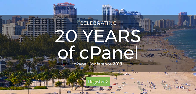 cPanel Conference 2017