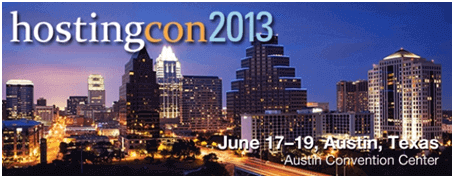HostingCon 2013 | Austin, Texas | June 17-19th, 2013