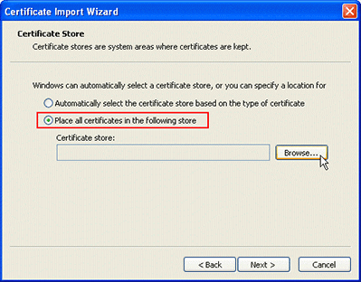 Exchange 2003 Server SSL Certificates Installation Guide
