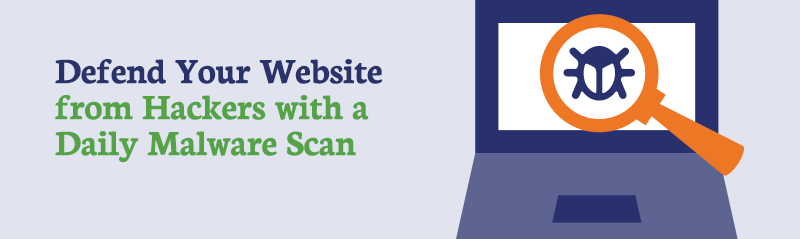 Mobile Website Anti-Malware Scan Banner