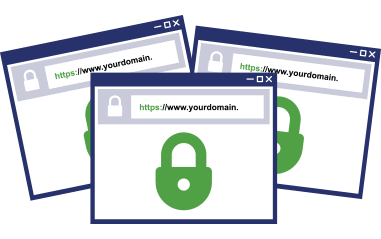 Multi-Domain SSL/TLS Certificates