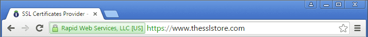Chrome Green Address Bar