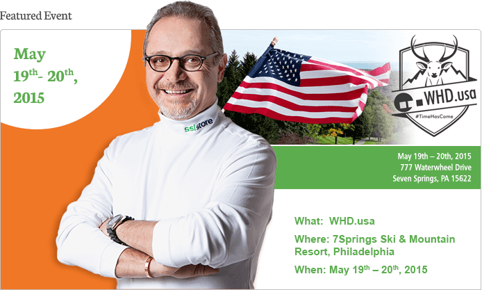 What: WHD.usa | Where: 7Springs Ski & Mountain Resort, Philadelphia | When: May 19th – 20th