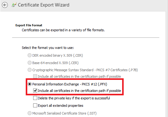 How to Download or Export a Code Signing Certificate in