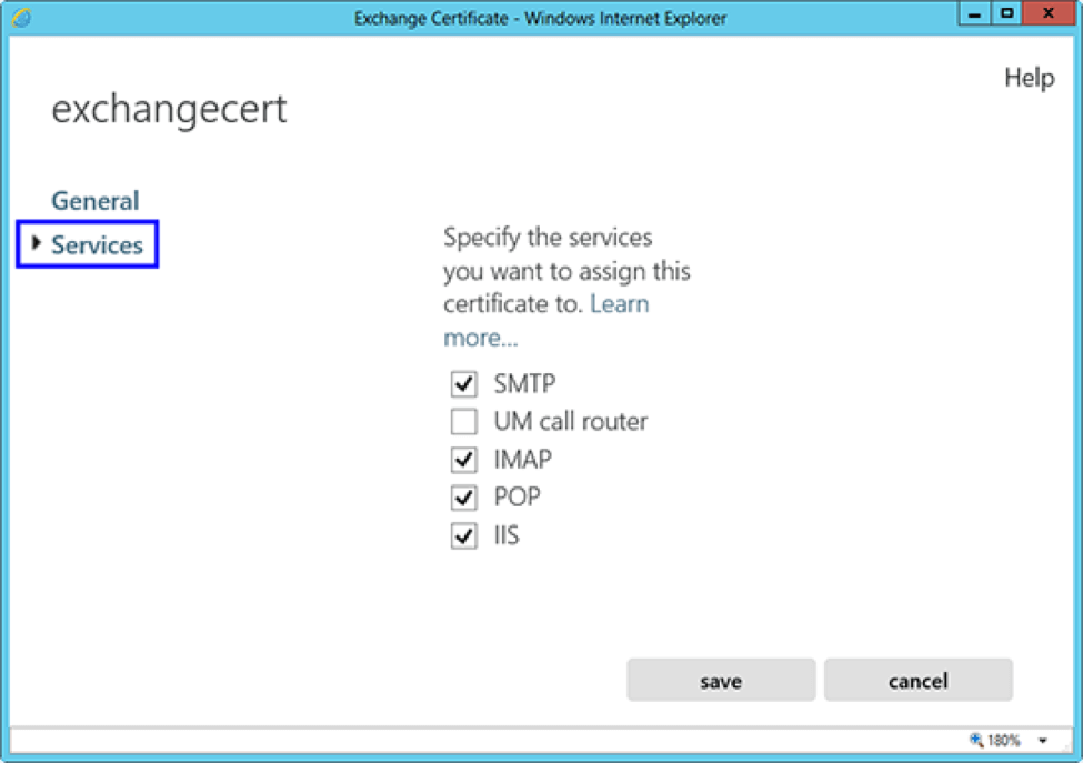 How To Install An Ssltls Certificate In Microsoft Exchange 2013