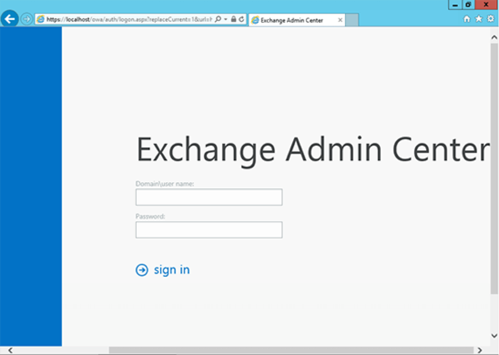 MS Exchange 2013 Step4