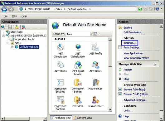 Microsoft IIS 7 Step11