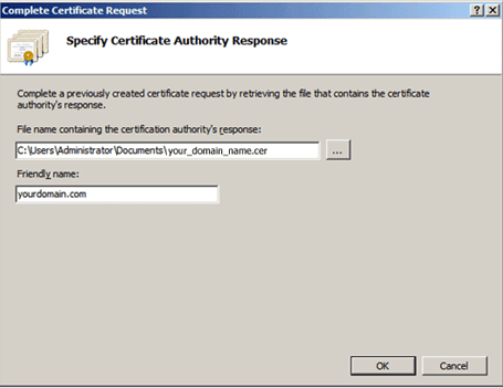 How to Install an SSL/TLS Certificate In Microsoft IIS 7 - The SSL ...