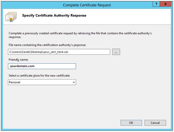 How to Install an SSL/TLS Certificate In Microsoft IIS 8 - The SSL ...