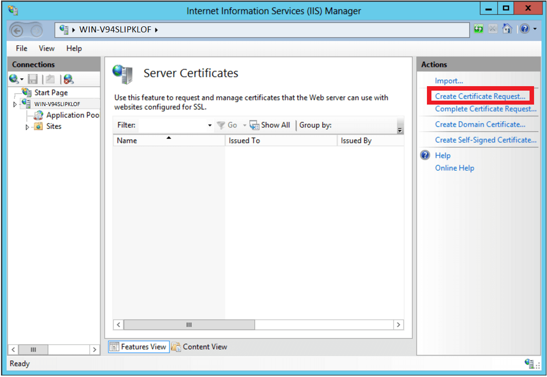 How to Generate a Certificate Signing Request (CSR) for