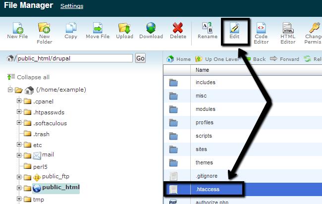 Configure Server File