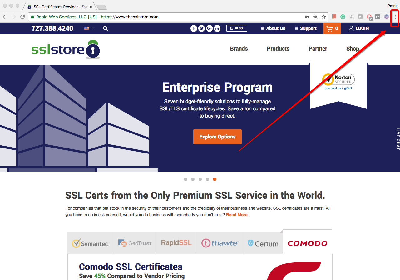 How to Check SSL/TLS Certificates Expiration Date In Google