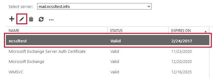 Certificate Status