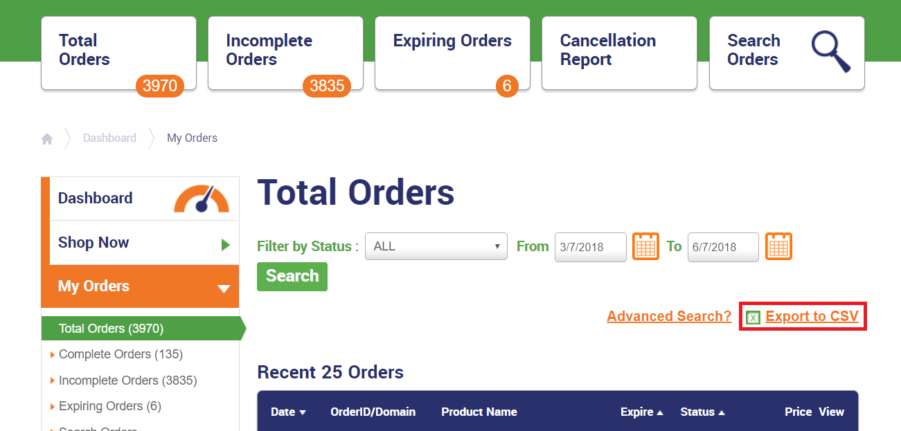Importing Existing Orders into the WHMCS Module - The SSL Store™