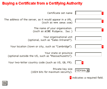Buying from a Certifying Authority