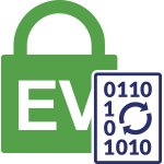 Types of SSL certificates graphic: Extended validation certificate (EV SSL)