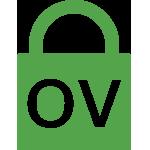 Types of SSL certificates graphic: Organization validation (OV SSL)